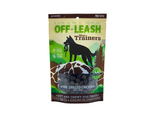 Gâteries de dressage Off Leash Mini Trainers au Poulet