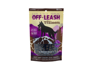 Gâteries de dressage Off Leash Mini Trainers au Canard