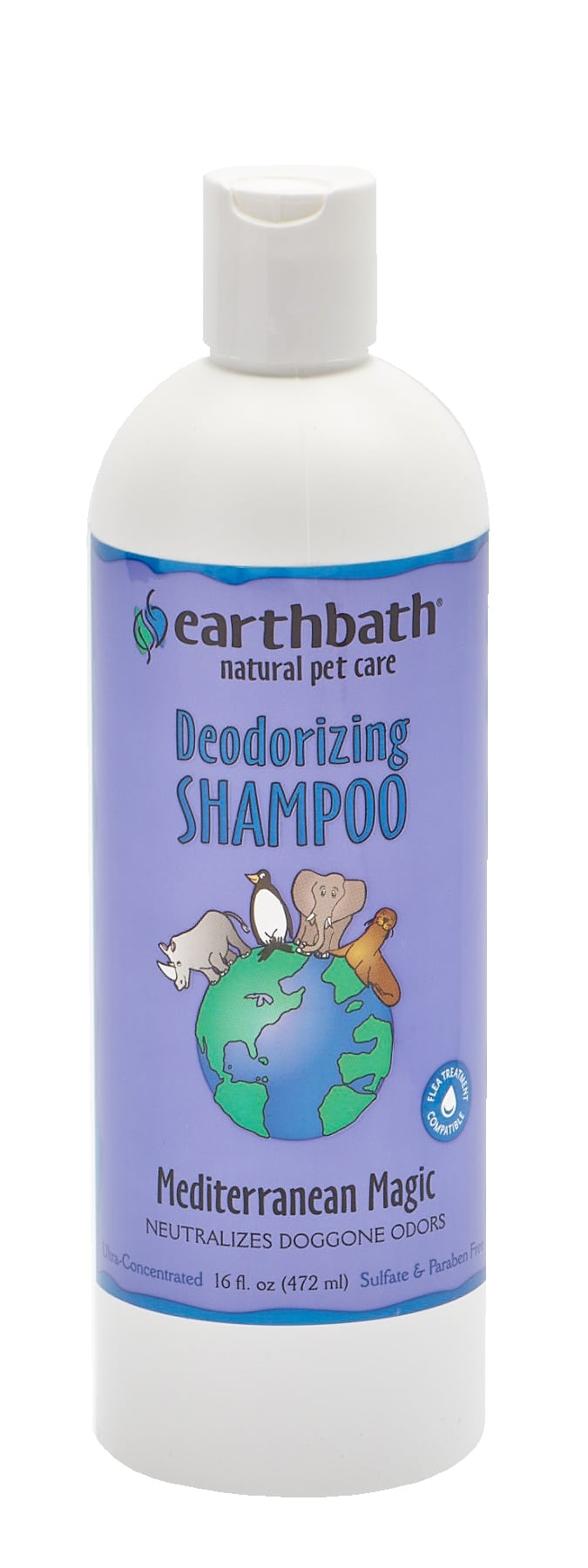 Shampoing désodorisant Earthbath Mediterranean Magic