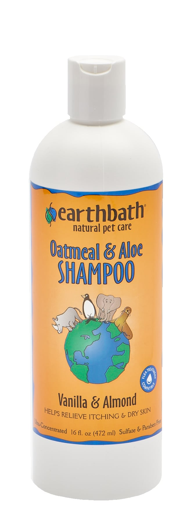 Shampoing Earthbath Oatmeal & Aloe