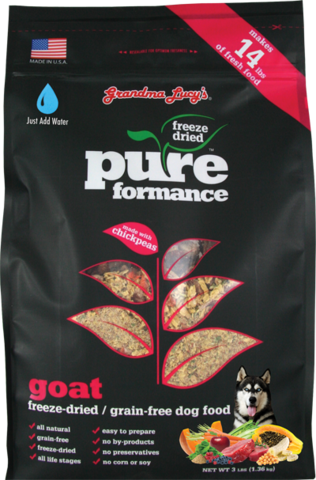 Grandma Lucy's Pureformance Goat Grain Free Dog Food