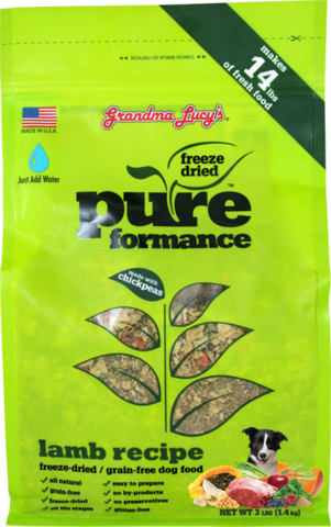 Grandma Lucy's Pureformance Lamb Grain Free Dog Food