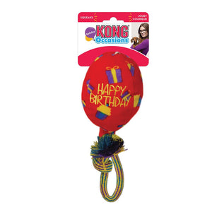 Jouet pour chiens Ballon d'anniversaire Kong Occasions Birthday Balloon