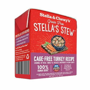 Nourriture humide pour chiens Stella's Stews Cage-Free Dinde