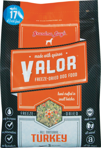 Grandma Lucy's Valor Turkey Gluten Free Dog Food