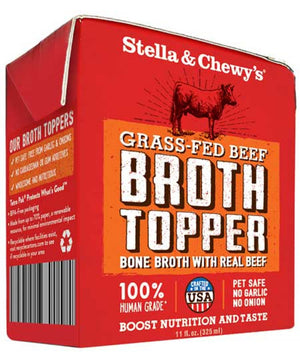 Bouillon d'os de bœuf Stella Broth Topper