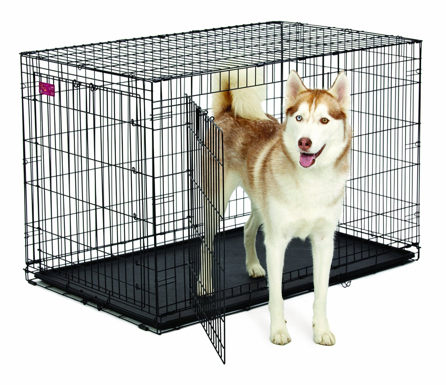cage pour grand chien 48 39 39 cad. Black Bedroom Furniture Sets. Home Design Ideas