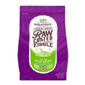 Nourriture pour chat Stella & chewy's Raw coated au canard