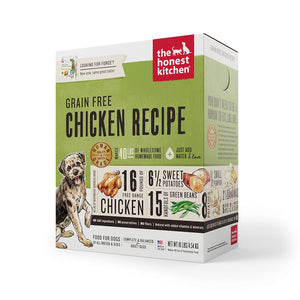 Nourriture déshydraté Honest Kitchen Force Poulet Sans Grain