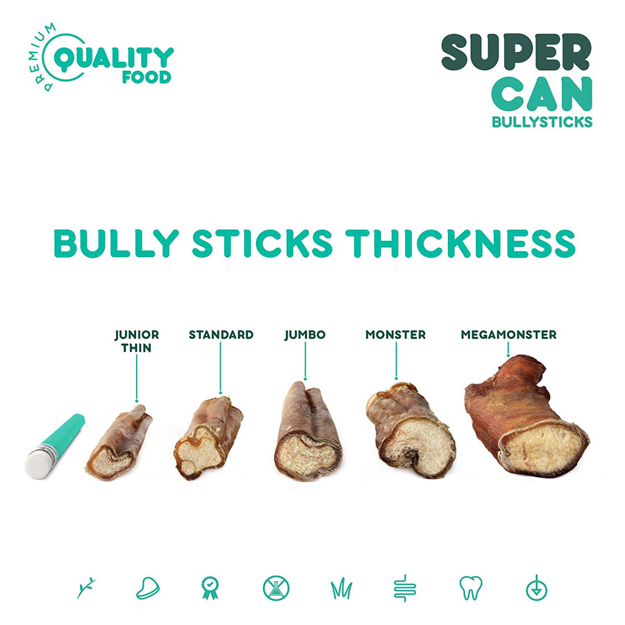 Bully Stick Super Can Mega Monster 12''