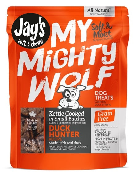Gâteries pour chiens Waggers Mighty Wolf canard
