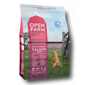 Nourriture Pour Chat Open Farm Saumon Sauvage Sans Grain
