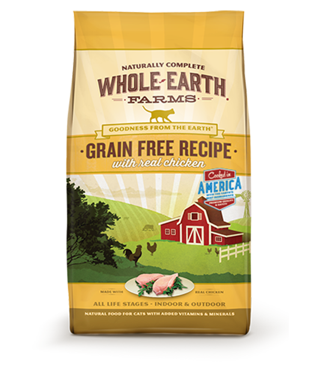 Nourriture pour chats sans grains Merrick Whole Earth Farms Poulet