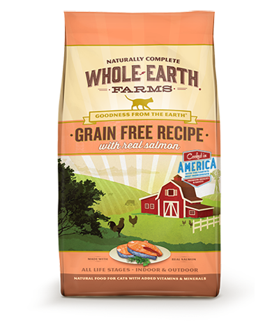 Nourriture pour chats sans grains Merrick Whole Earth Farms Saumon