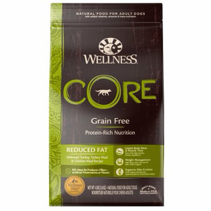 Nourriture pour chien Wellness Core Reduced