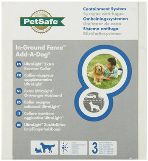 collier Petsafe ultralight retail box