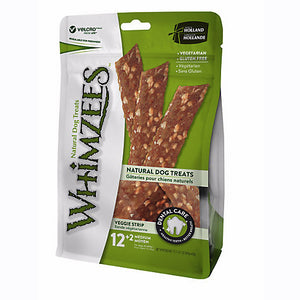 Whimzees Veggie Strip en sac 12.7oz