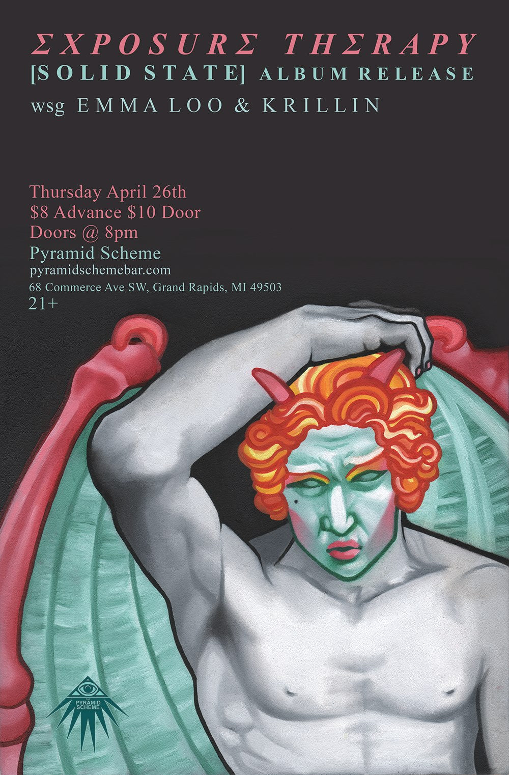 Exposure Therapy Show Poster.
