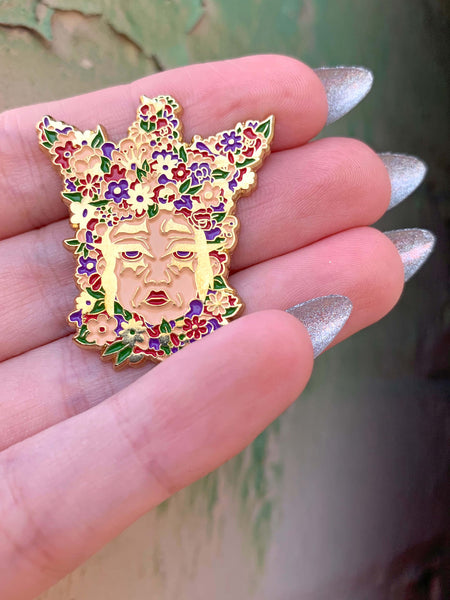 The May Queen Midsommar Ari Aster Enamel Pin.