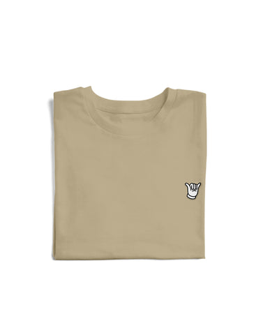 Embroidered Shaka Tee