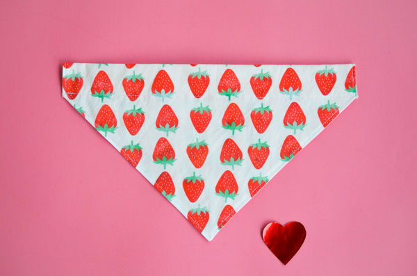 Strawberry Dog Bandana