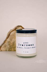 Overseas Scented Soy Candle 7.2 oz