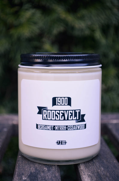 Roosevelt Scented Soy Candle 7.2 oz