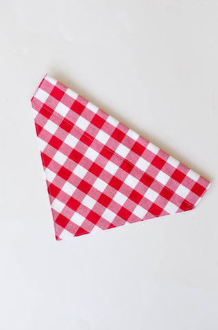 Reversible Picnic Dog Bandana