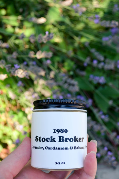 Stock Broker Scented Soy Candle 3.5 oz