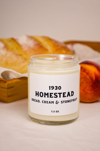 Homestead Scented Soy Candle 7.2 oz