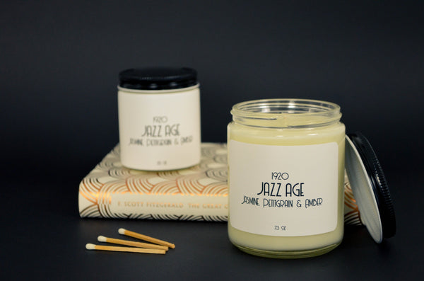 Jazz Age Scented Soy Candle 3.5 oz