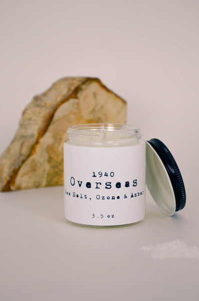 Overseas Scented Soy Candle 3.5 oz