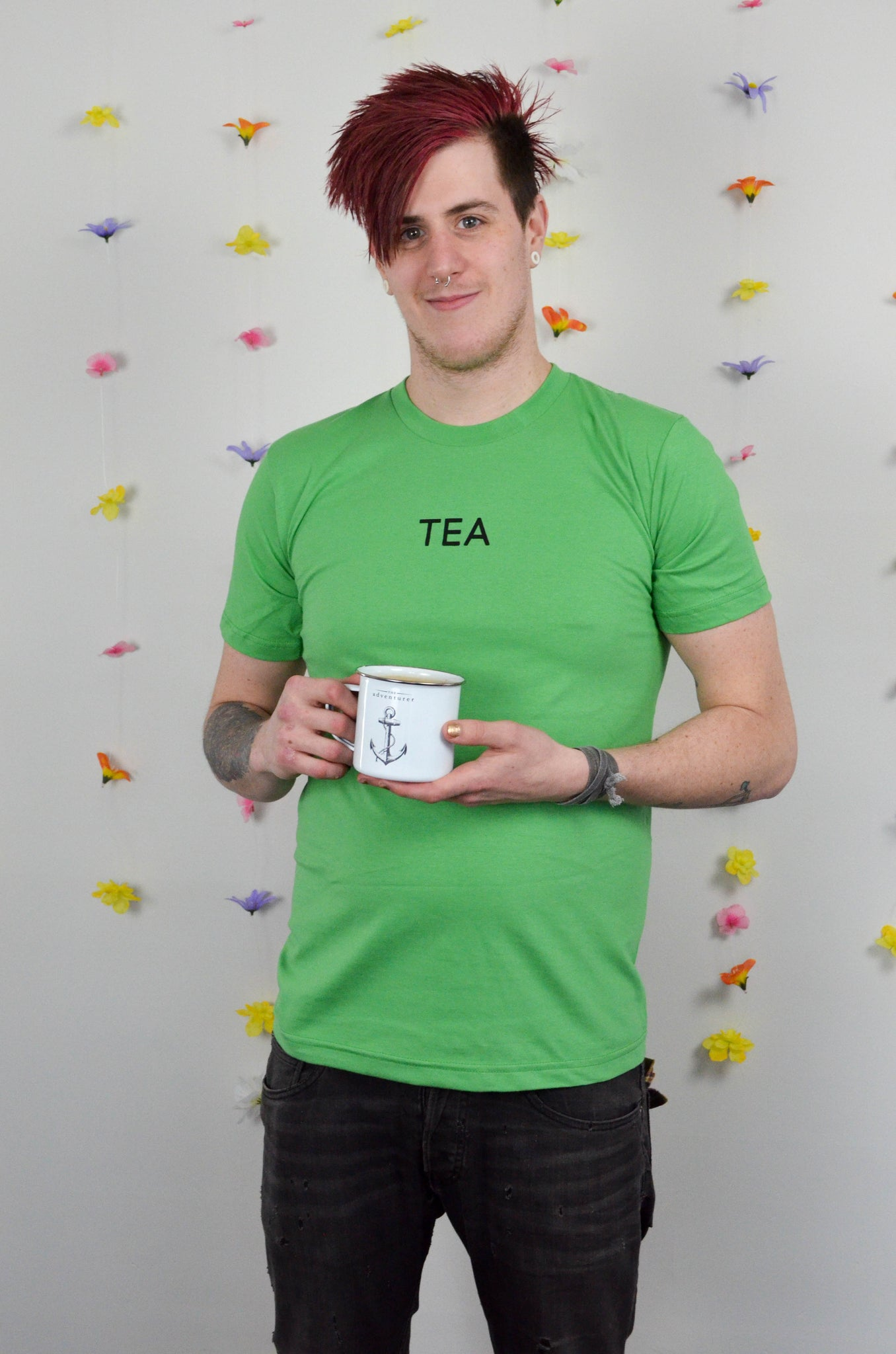 Green Tea Unisex Tee SECOND