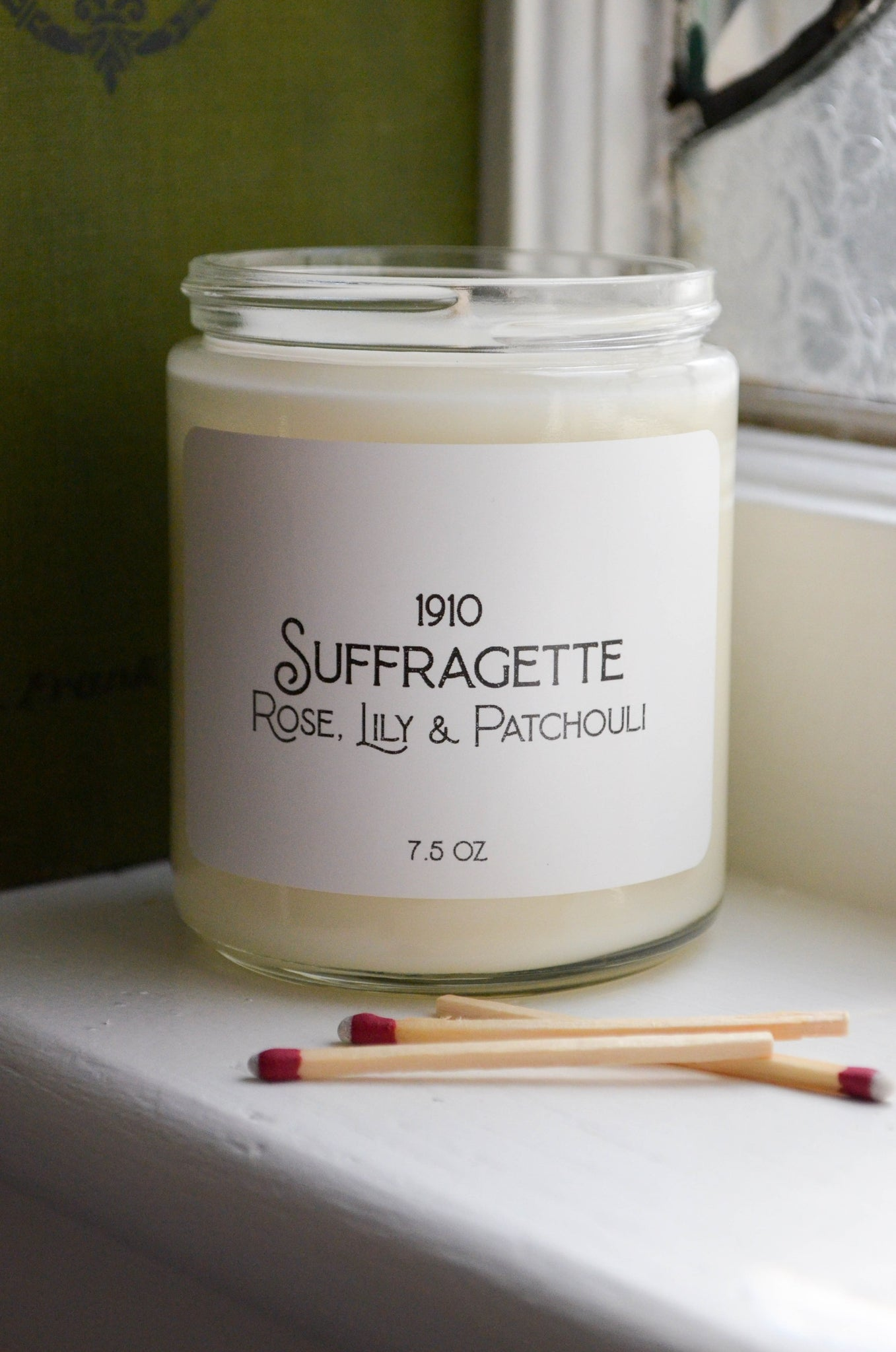 Suffragette Scented Soy Candle 7.2 oz