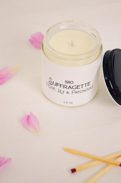 Suffragette Scented Soy Candle 3.5 oz