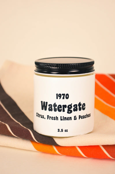 Watergate Scented Soy Candle 3.5 oz