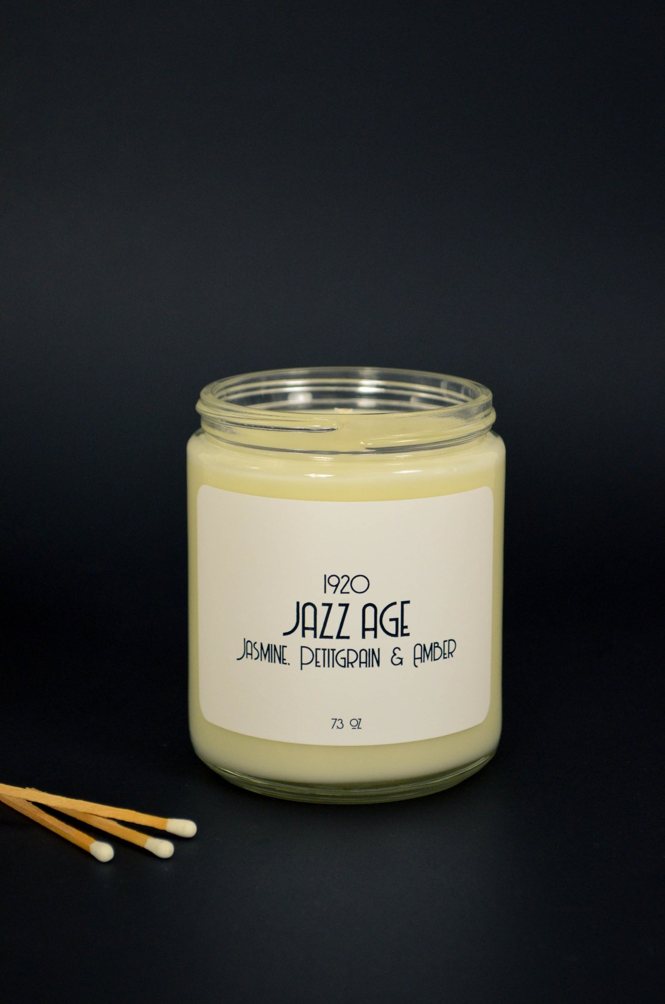 Jazz Age Scented Soy Candle 7.2 oz