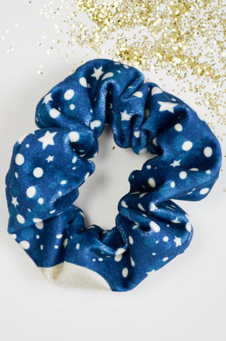 Night Skies Velvet Scrunchie