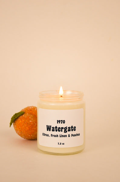 Watergate Scented Soy Candle 7.2 oz