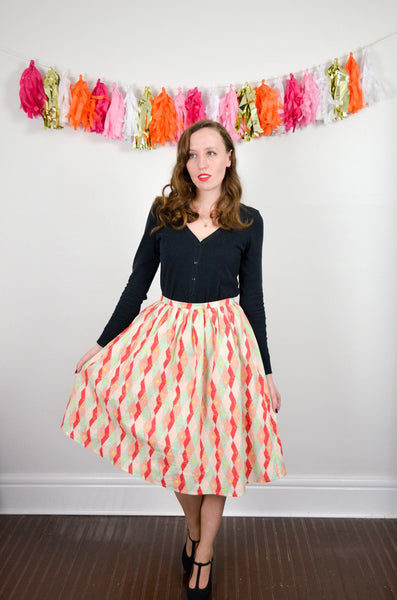 Martinis & Mistletoe Skirt