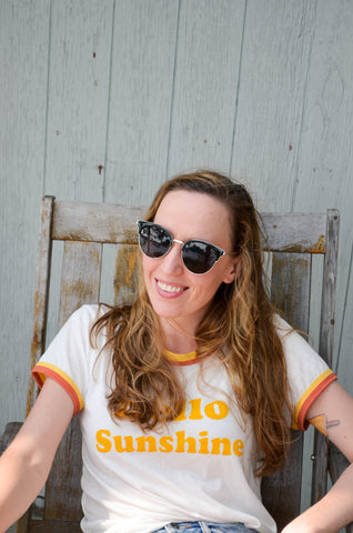 Hello Sunshine Ladies Tee