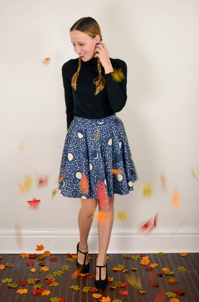 Night Skies & Lullabies Skirt in Organic Cotton