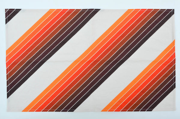 Retro Stripe Tea Towel