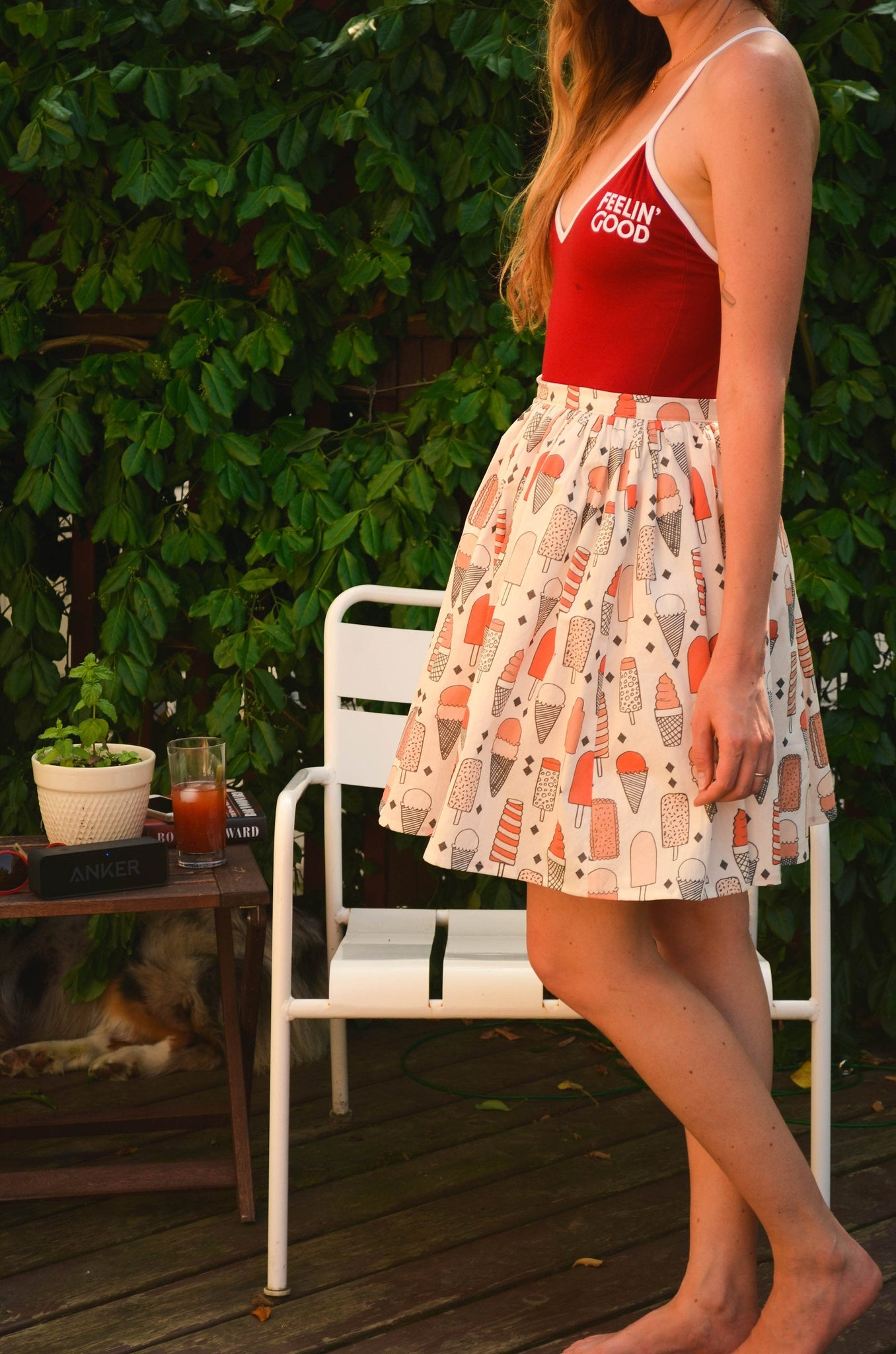 Ice Scream Skirt