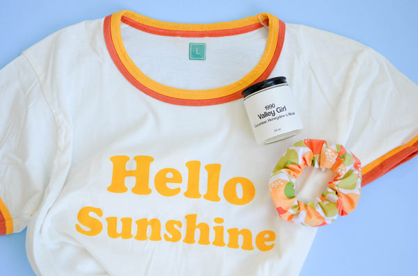 Bright & Sunny Clothing Care Package