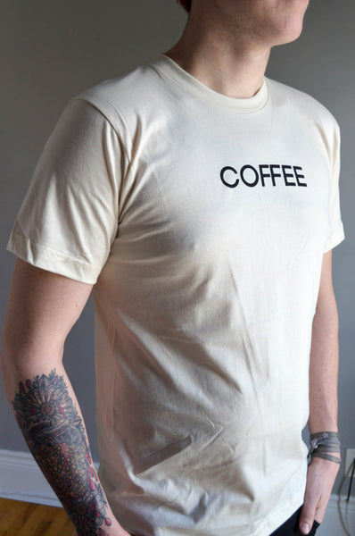 Coffee Unisex Tee (+ Colours)