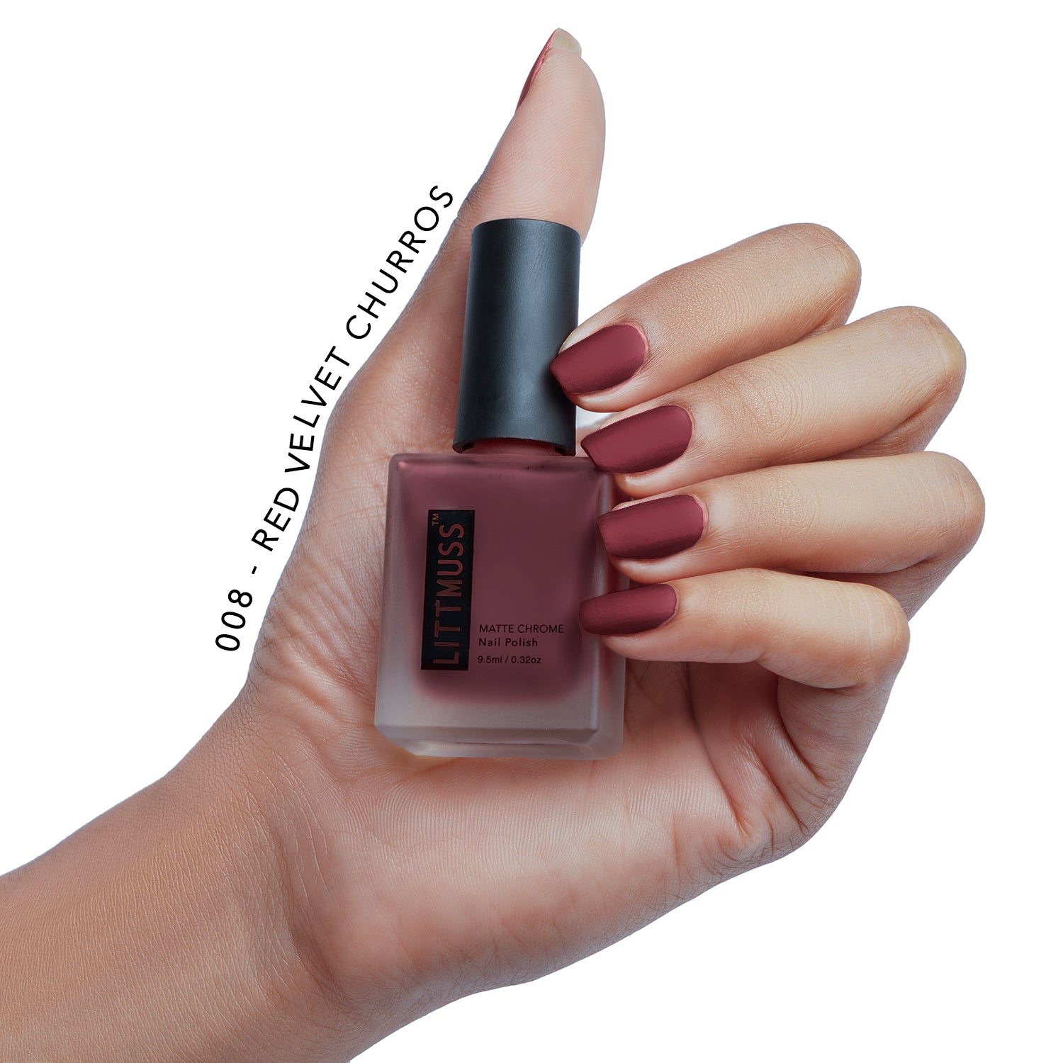LITTMUSS Matte Chrome Nail Polish Fashionista Combo