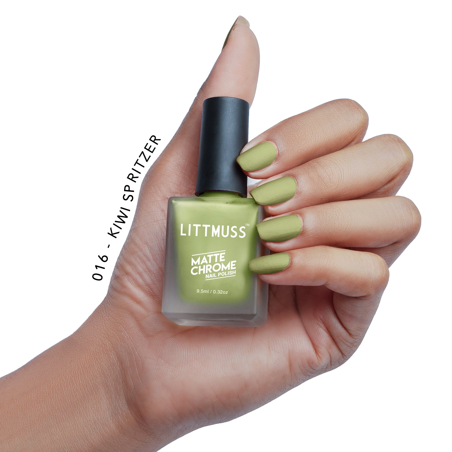 LITTMUSS Matte Chrome & Sugar Candy Nail Polish Hold Me Up Combo