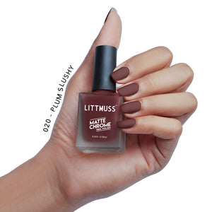 LITTMUSS Nail Polish & Remover Don't Overthink It Combo