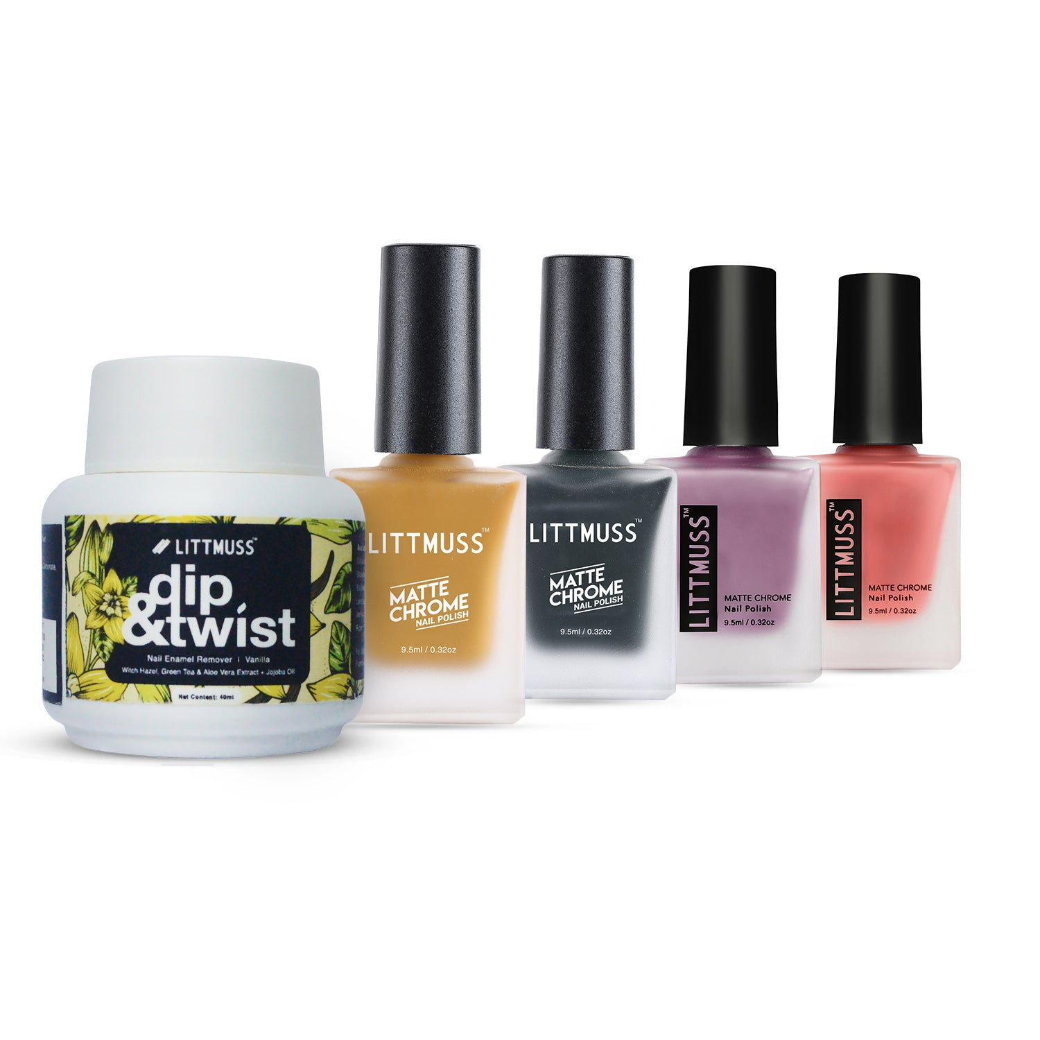 LITTMUSS Nail Polish & Remover Match Your Outfit Combo